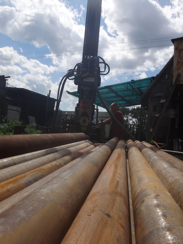 процесс бурения скважины электросталь