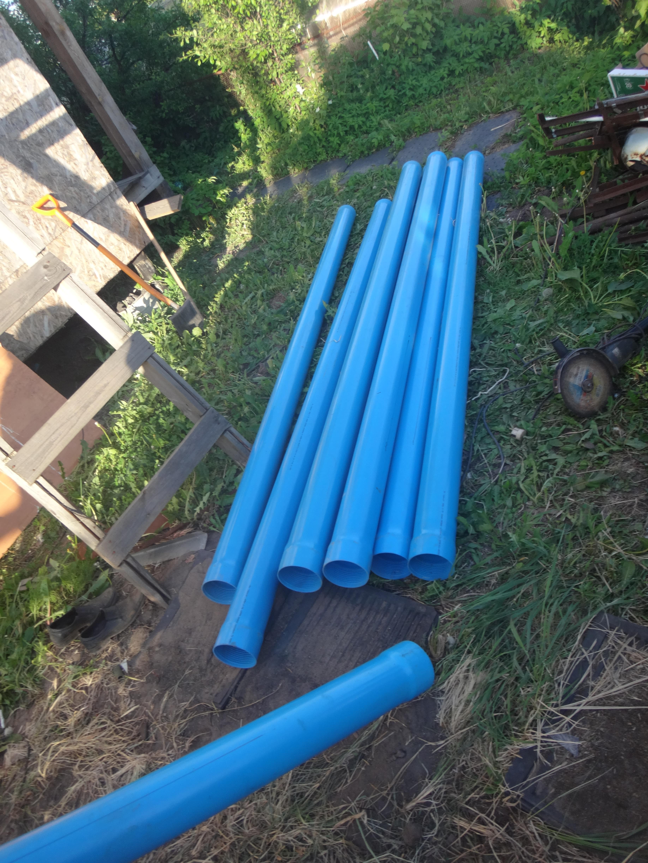 трубы для бурения скважины